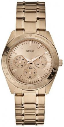 Guess Feminine Dress Rose Gold U13623L1 watch
