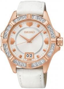Seiko Lord SUR800P1 Swarovski watch