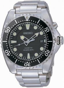 Seiko SKA371P1 Kinetic Diver watch