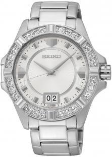 Seiko Lord SUR809P1 Swarovski watch