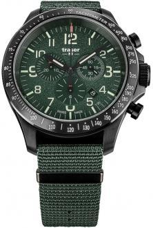 P67 Officer Pro Chronograph Khaki Steel 109463 watch