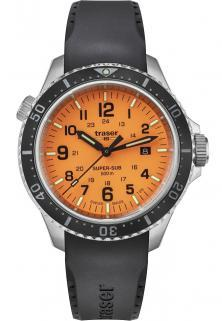 Traser P67 SuperSub Orange 109380 watch