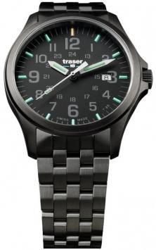 Traser P67 Officer Pro GunMetal Black 107868 watch
