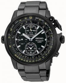 Seiko SNAB69P1 Pilot Chronograph watch