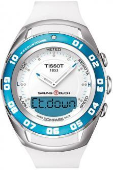 Tissot Sailing Touch T056.420.17.016.00  - 35 % watch