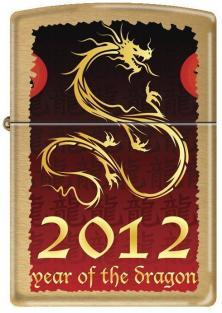 Zippo 2012 - Year of the Dragon 0238 lighter