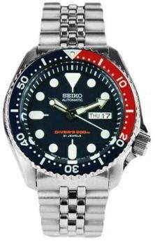Seiko SKX009J2 Diver MADE IN JAPAN watch