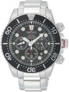 Seiko Solar SSC015P1 Chrono watch