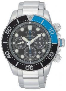 Seiko Solar SSC017P1 Chrono watch
