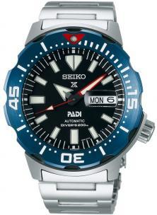Seiko SRPE27K1 Prospex Diver Monster PADI watch