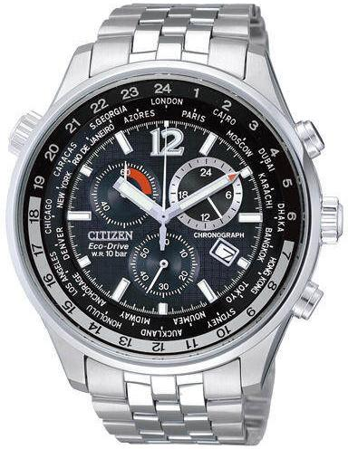 Citizen AT0360-50E Chronograph World Time watch