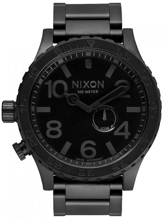 Nixon 51-30 Tide All Black A057 001 watch